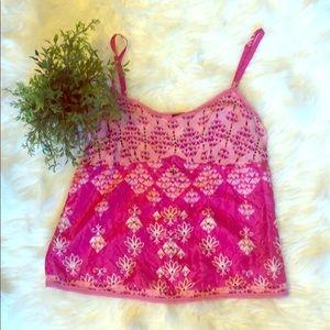 Gap Boho Style Silk Cami